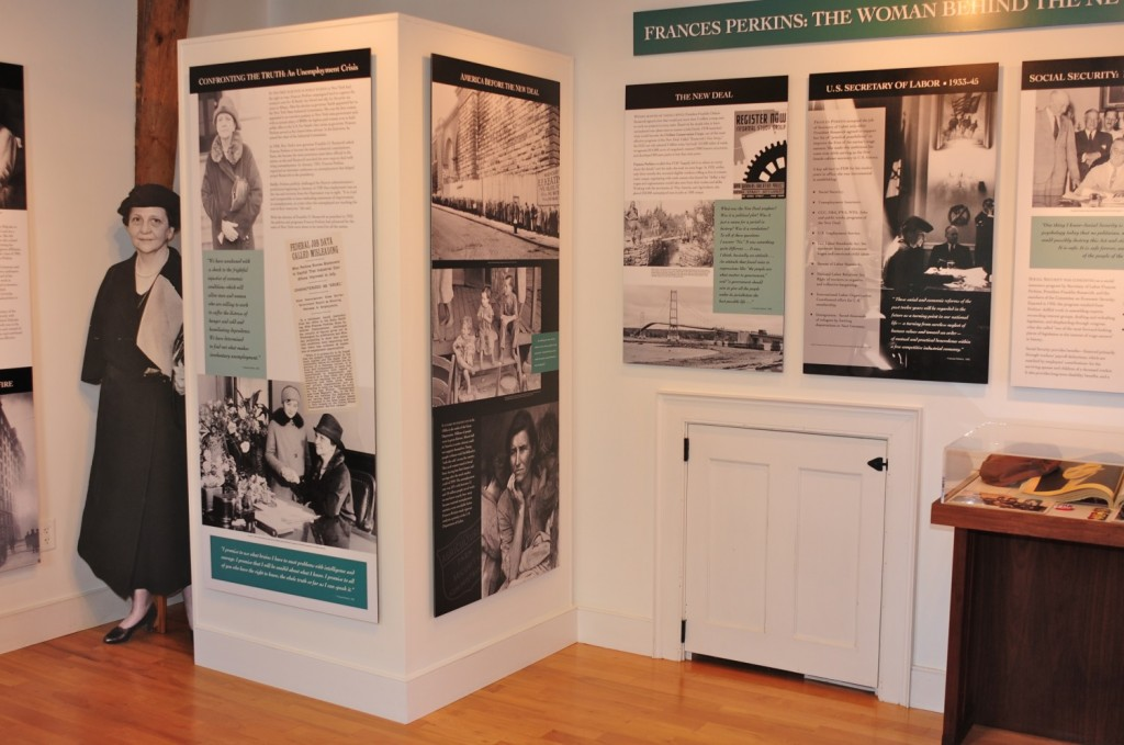 Frances Perkins Center Exhibit