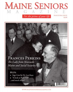 Maine Seniors Article on Frances Perkins COVER