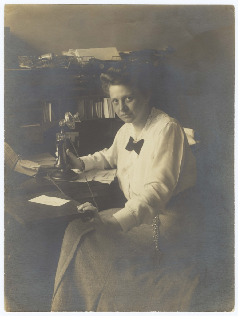 Frances_Perkins at Consumer's League c.1911