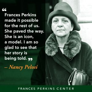 Frances Perkins is an American Icon